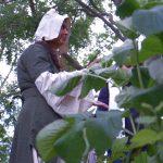 Kräuterwanderung in Pommern mit Karla